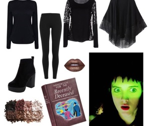 beetlejuice, black, and costume image