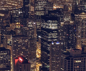 city, wallpaper, and light image