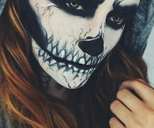 Halloween, makeup, and halloween costume image