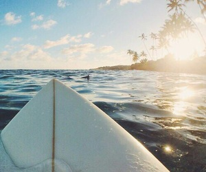 surf, beach, and water image