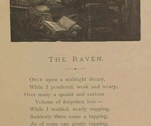 edgar allan poe, book, and poe image