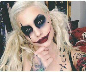 makeup, Halloween, and costume image