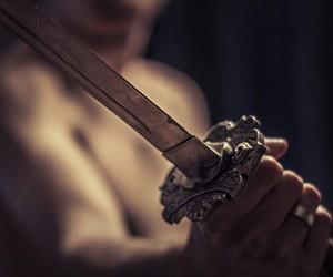 sword and boy image