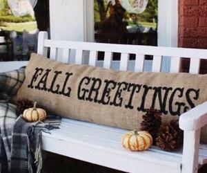 decor, fall, and Halloween image