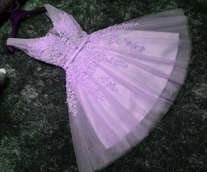 dress, pink, and clothes image