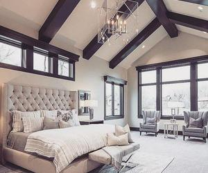 luxury, bedroom, and home image