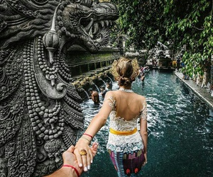 couple, travel, and bali image