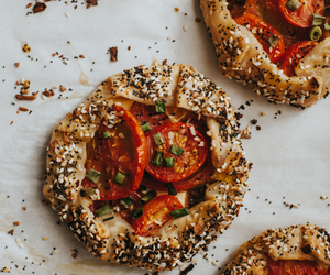 crust, poppy seed, and sesame image