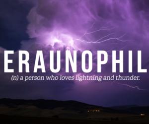 thunder, lightning, and ceraunophile image