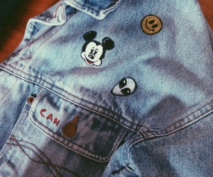 can, mickey mouse, and aliene image