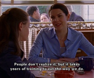 gilmore girls, food, and eat image