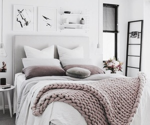 bedroom, colours, and decor image
