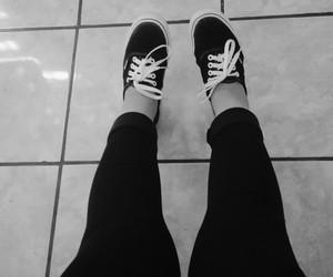 aesthetic, black, and black&white image