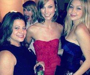 Taylor Swift, Karlie Kloss, and gigi hadid image
