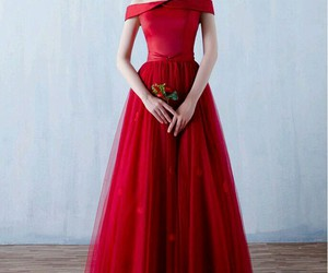 dress, formal, and Prom image