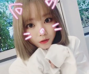 asian, blonde, and ulzzang image