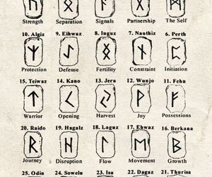 vikings, runes, and tattoo image