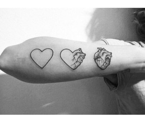 heart and tatoo image