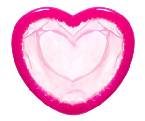 condom, heart, and pink image
