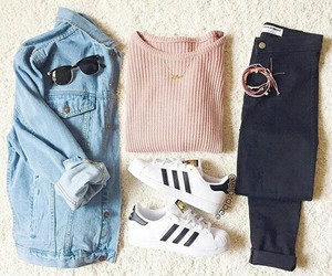 adidas, outfits, and ootd image