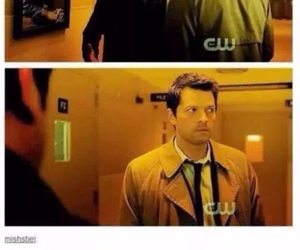 crowley, funny, and tumblr image
