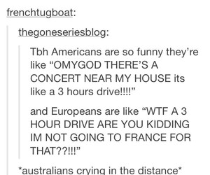 americans, europeans, and australians image