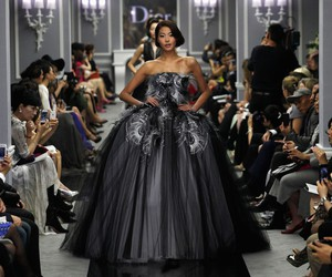 Christian Dior, gown, and moda image