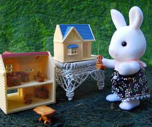 sylvanian families, sylvanian, and calico critters image