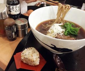 food, noodles, and soba image