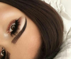 photography inspiration, eyes eyebrows brows, and beauty beautiful pretty image