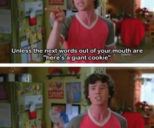 the middle, funny, and cookie image