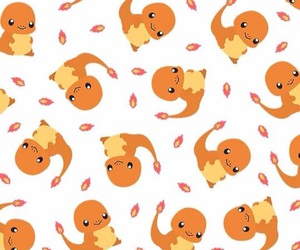 pokemon, ​charmander, and pattern image
