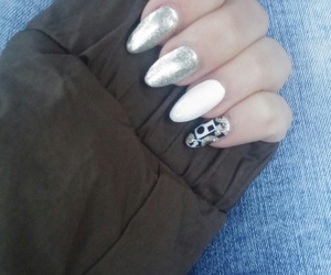 gray, jeans, and nails image