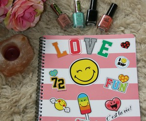 nails, study, and notebook image