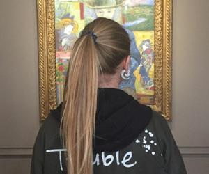blond, paris, and tableau image