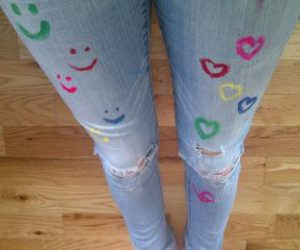 fun, hearts, and jeans image