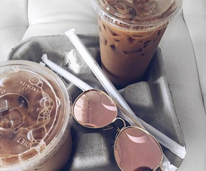 coffee and sunglasses image