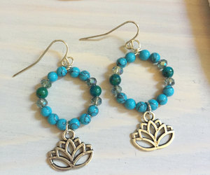 etsy, stone jewelry, and peace jewelry image