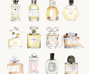 perfume, chanel, and art image