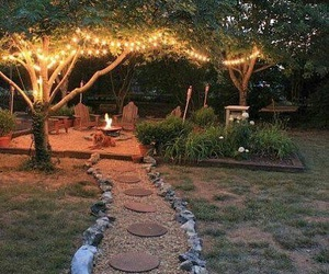 home, garden, and light image