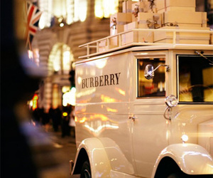 Burberry and car image