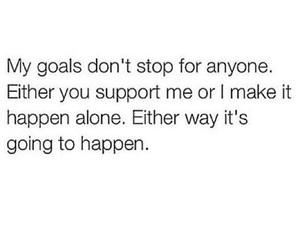 goals, quotes, and true image
