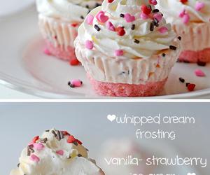 cupcake, food, and ice cream image