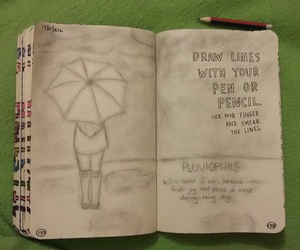 rainy day, WITH, and wreck this journal image