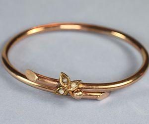 antique, bracelet, and victorian image