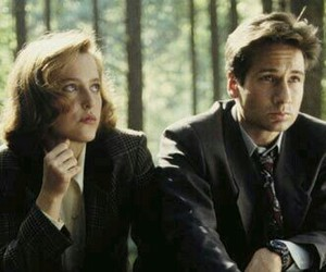 dana scully, fox mulder, and Xfiles image