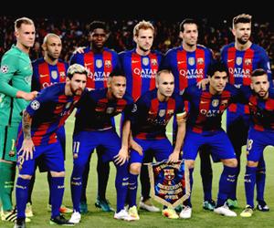 fc barcelona and fcb image