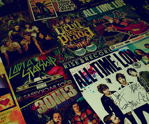 3OH!3, all time low, and boys image