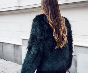 fashion, fur, and hair image