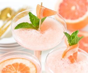 cocktail, food, and grapefruit image